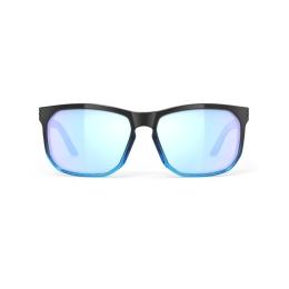 Rudy Project Soundrise Okulary Czarno Niebieskie