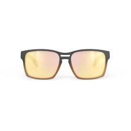 Rudy Project Spinair 57 Okulary Czarno Złote