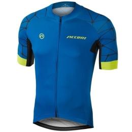 Koszulka Accent Hero Niebiesko Żółta