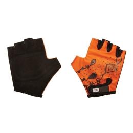 Rękawiczki Merida B Skin Kidy Kites Pomarańczowe