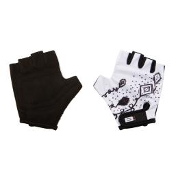 Rękawiczki Merida B Skin Kidy Kites Biało Czarne