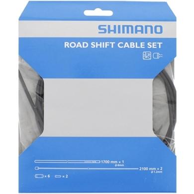 Shimano Zestaw linek i pancerzy przerzutki MTB / Szosa