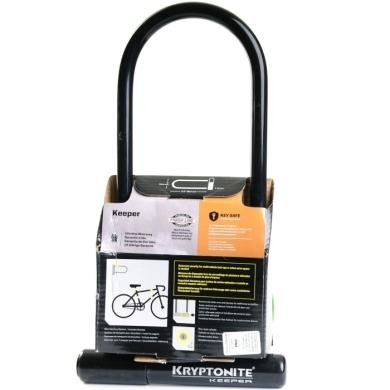 Kryptonite Keeper 12 LS Zapięcie rowerowe U-lock 10.2x29.2cm + uchwyt