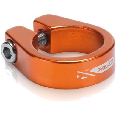 XLC PC B05 Zacisk sztycy 31,6mm na śrubę pomarańczowy