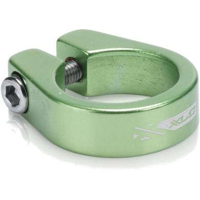 XLC PC B05 Zacisk sztycy 31,6mm na śrubę zielony