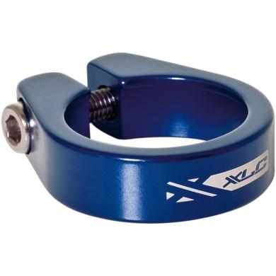 XLC PC B05 Zacisk sztycy 34,9mm na śrubę niebieski
