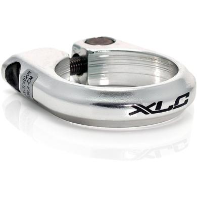 XLC PC B02 Zacisk sztycy 28,6mm na śrubę srebrny