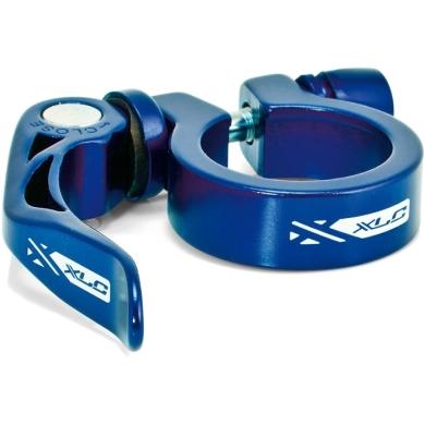 XLC PC L04 Zacisk sztycy 31,6mm z rączką niebieski