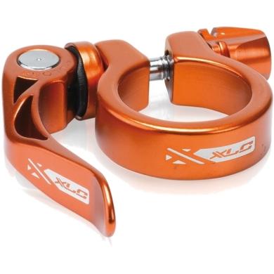 XLC PC L04 Zacisk sztycy 31,8mm z rączką pomarańczowy