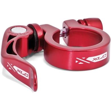 XLC PC L04 Zacisk sztycy 31,6mm z rączką czerwony