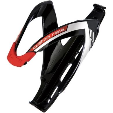 Elite Custom Race Koszyk na bidon czarny czerwone logo