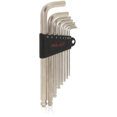 XLC TO S33 Zestaw kluczy imbusowych dwustronnych