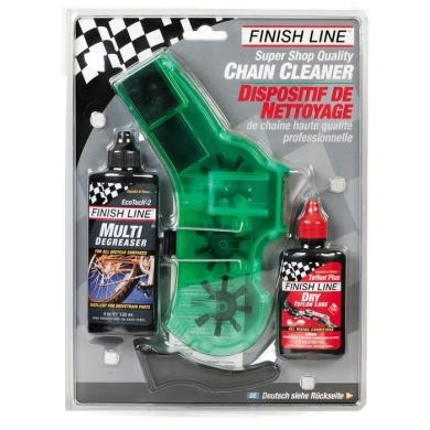 Finish Line Chain Cleaner Kit Przyrząd do czyszczenia łańcucha zestaw