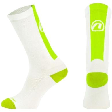 Accent Stripe Long skarpetki wysokie biało zielone