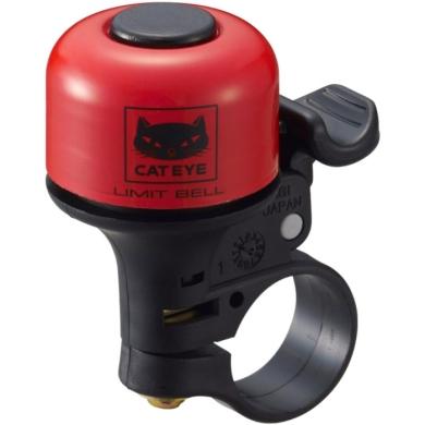 Cateye Limit Bell PB-800 Dzwonek rowerowy czerwony