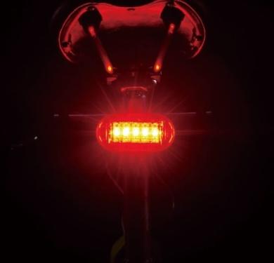 Cateye TL LD155 R Omni 5 Lampka rowerowa tył LED