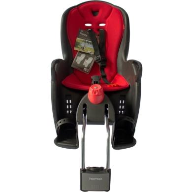 Fotelik dziecięcy Hamax Sleepy czarno czerwony