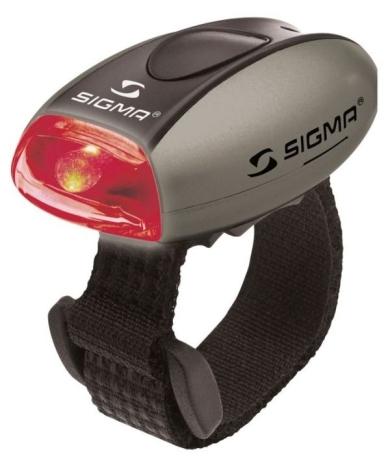 Sigma Micro Lampka tylna srebrna
