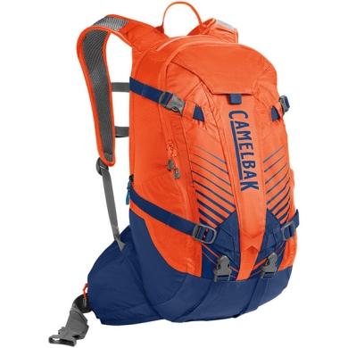 Camelbak K.U.D.U. 18 DRY Plecak rowerowy z protektorem pomarańczowo niebieski