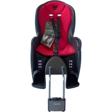 Fotelik dziecięcy Hamax Kiss czarno czerwony