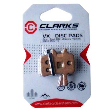 Clarks VX813 Klocki hamulcowe organiczne Avid Ultimate / Juicy 3 / 5 / 7 / BB7