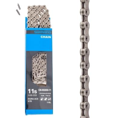 Shimano CN HG901 Łańcuch 11 rzędowy XTR + pin