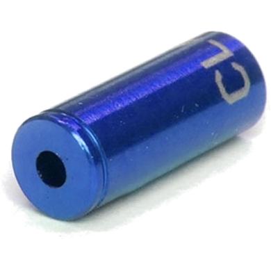Clarks Końcówka pancerza hamulca alu CNC 5mm niebieska