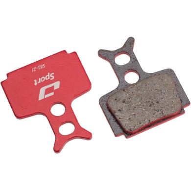 Jagwire Klocki hamulcowe tarczowe Sport Formula R1 / T1 / Mega pół-metaliczne