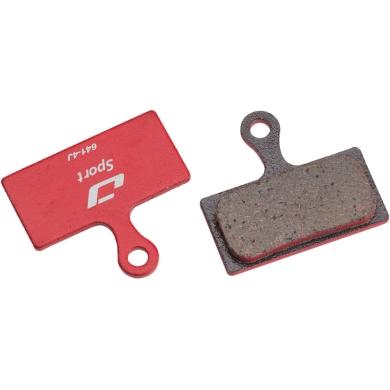 Jagwire Klocki hamulcowe tarczowe Sport Shimano XTR M985 / XT M785 / Deore M615 pół-metaliczne