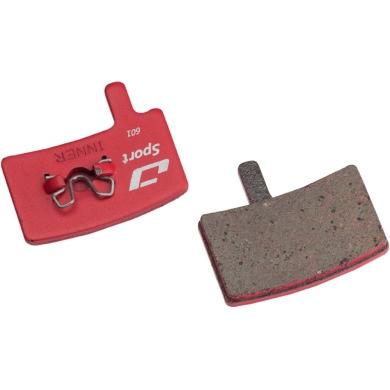 Jagwire Klocki hamulcowe tarczowe Sport Hayes Stroker Trial / Carbon / Gram pół-metaliczne