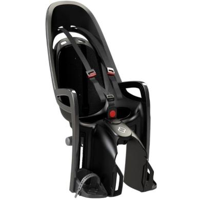 Fotelik dziecięcy Hamax Zenith czarny + adapter na bagażnik