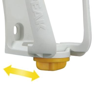 Topeak Modula Cage EX Koszyk na bidon regulowany biały