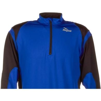 Rogelli Dillon Koszulka do biegania czarno niebieska