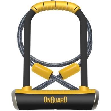 Onguard PitBull DT 8005 Zapięcie U-lock + linka 10mm 120cm