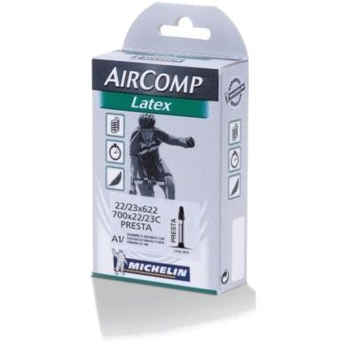 Michelin A1 Aircomp Latex 700 x 22/23C presta 60mm Dętka