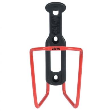 Zefal Alu Plast 124 Koszyk na bidon aluminiowy czerwony