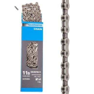 Shimano CN HG701 Ultegra XT Łańcuch 11 rzędowy Sil-Tec + pin