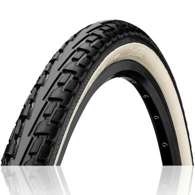 Continental Ride Tour 26-27,5 ExtraPuncture Belt Opona rowerowa drutowa czarno biała