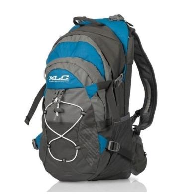 XLC BA S48 Plecak rowerowy szaro niebiesko biały 18l