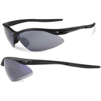 Accent Shadow Okulary sportowe czarne matowe szara soczewka