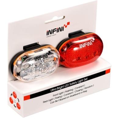 Infini Vista Zestaw lampek rowerowych przednia i tylna