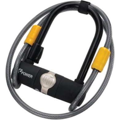 Onguard 5810 Zapięcie U-lock 11mm x 90mm x 140mm + linka