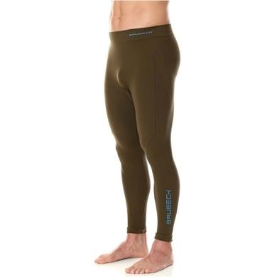 Brubeck Thermo Spodnie męskie khaki