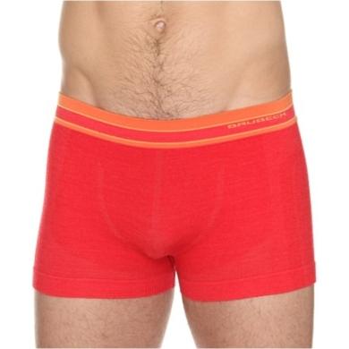 Brubeck Active Wool Bokserki męskie czerwone