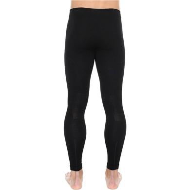 Brubeck Extreme Wool Spodnie męskie długa nogawka czarne