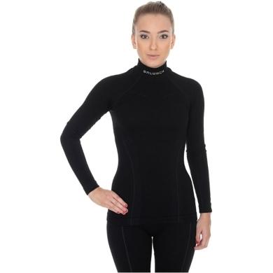 Brubeck Extreme Wool Merino Komplet bielizny damskiej czarny