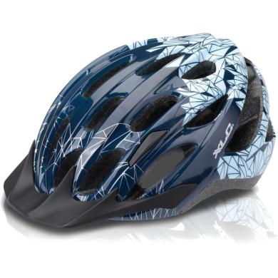 XLC BH C20 kask MTB z daszkiem niebieski