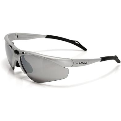 XLC SG C02 Tahiti okulary rowerowe z wymiennymi soczewkami srebrne