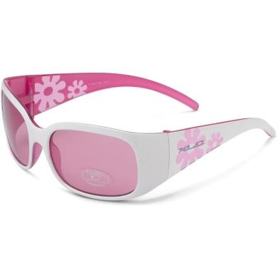XLC SG K01 Maui okulary rowerowe dziecięcie biało różowe