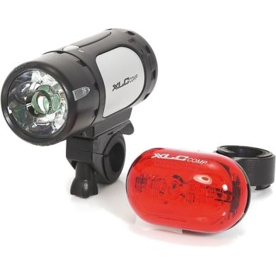 XLC CL S07 Cupid + Oberon zestaw lampek rowerowych LED